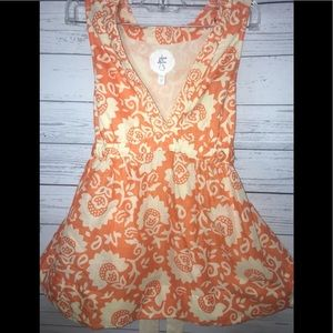 Anthropologie Edme Esyllte Babydoll Top Summer 4